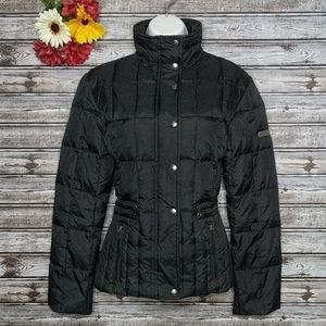 Steve Madden | Black Quilted Down Puffer Jacket S